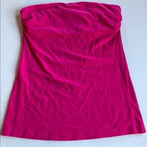 Wet Seal | Fuchsia Pink Shelf Bra Tube Top | M